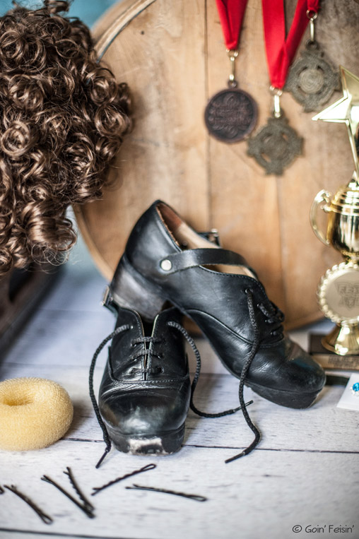 Hard shoes and other Irish dance gear