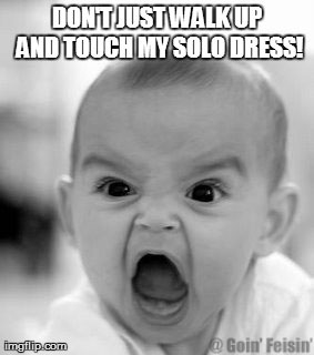 Dont Touch Solo Dress