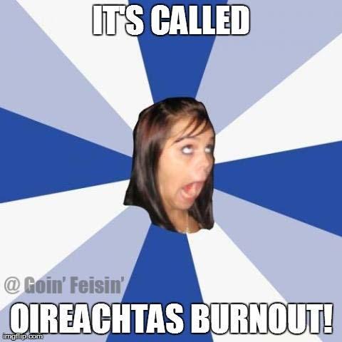 Oireachtas Burnout