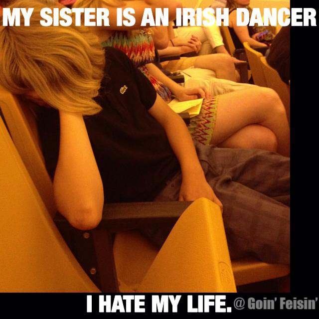 Sister Irish Dancer