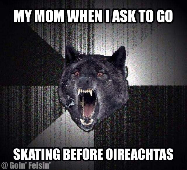 Skating Before Oireachtas