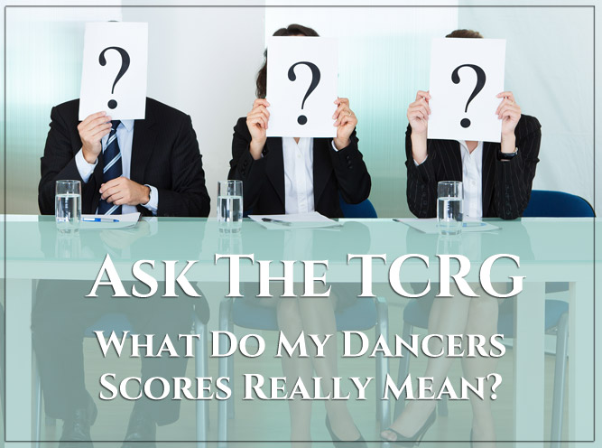 What Do My Dancer's Scores Mean?